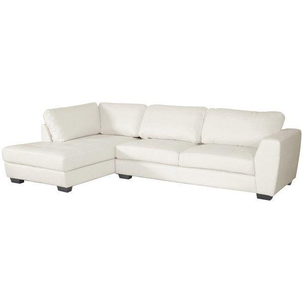 white leather sofa dot u0026 bo 2-pc. lovell leather sectional sofa set in white ($999 IFAWZUG