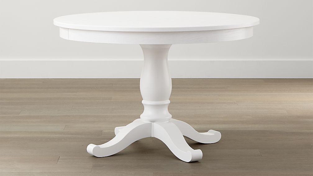 white table avalon 45 AWYRBYK