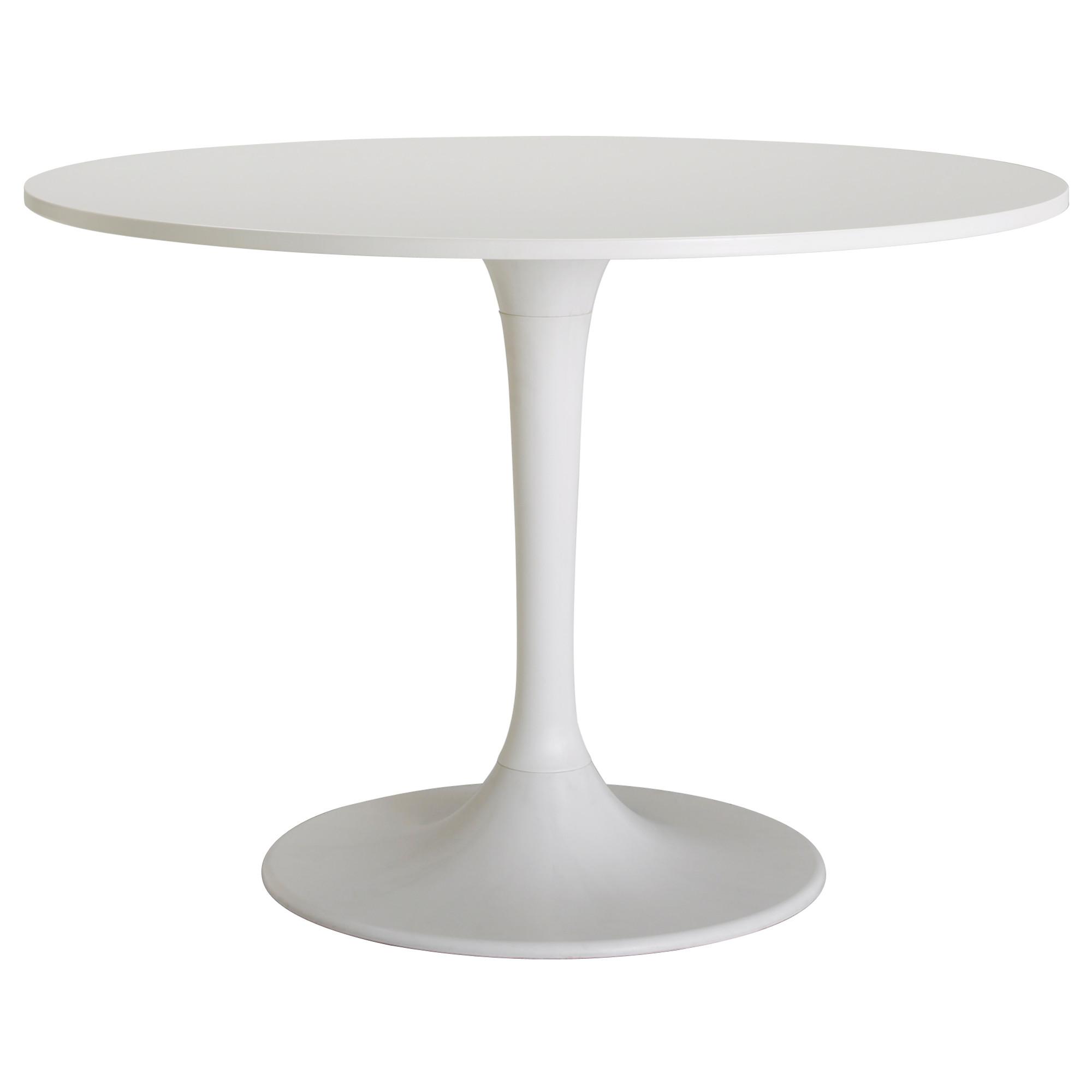 white table docksta table - ikea DTSERRK