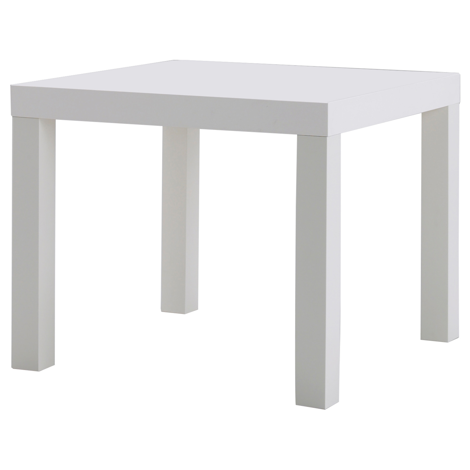 white table lack side table - white, 21 5/8x21 5/8  ERDLFTN