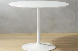 white table odyssey white dining table | cb2 FHZTNTJ