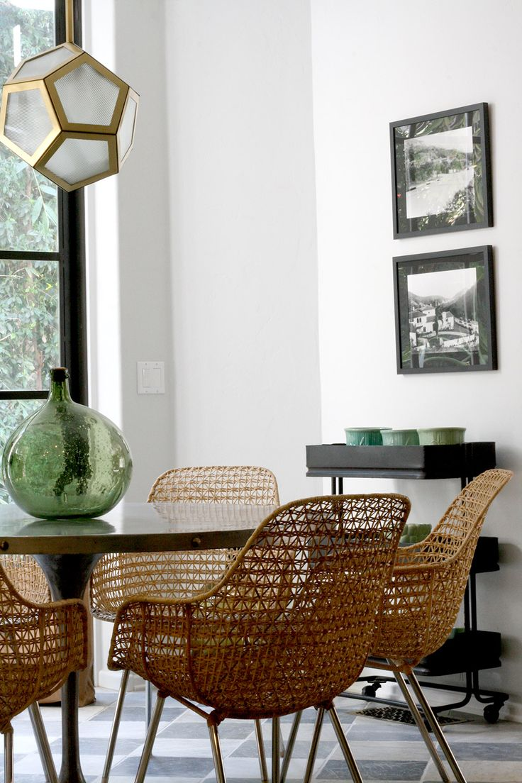 wicker dining chairs 10 lessons we learned from nate berkus. wicker dining chairswicker ... GAVCYGO