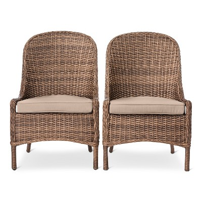 wicker dining chairs $191.99 ... SINXJGA