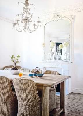 wicker dining chairs driven by décor: is kubu for you?: kubu grey. eye-catching contemporary dining BZUQZBJ