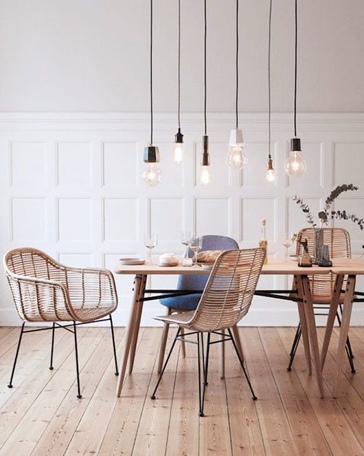 wicker dining chairs rattan dining chairs via my scandinavian home. / sfgirlbybay UHFBQLR