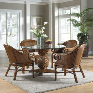 wicker dining chairs tropical dining furniture TDOCJWR