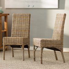 wicker dining chairs yorkshire schooner solid wood dining chair (set of 2) FVGDAIO