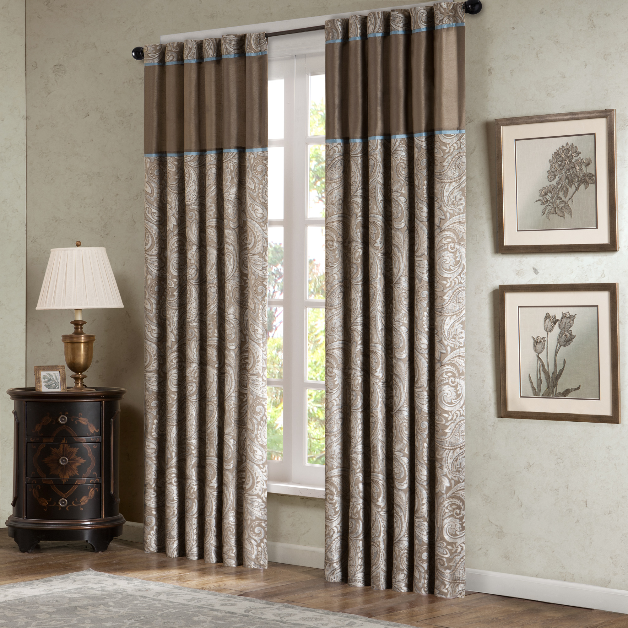 window panels madison classics valerie window panel - home - home decor - window UVOMLIX