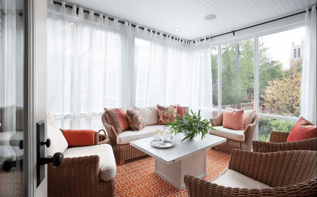 window treatment ideas sheer white wrap around curtains FHTHCQI