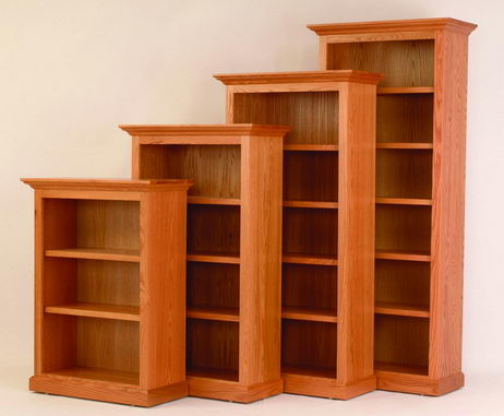 wood bookcase amish 36 PFTFAIT