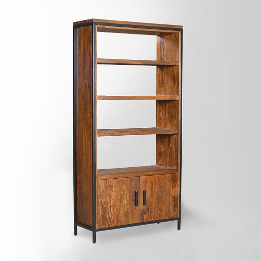 Gorgeous wood bookcase