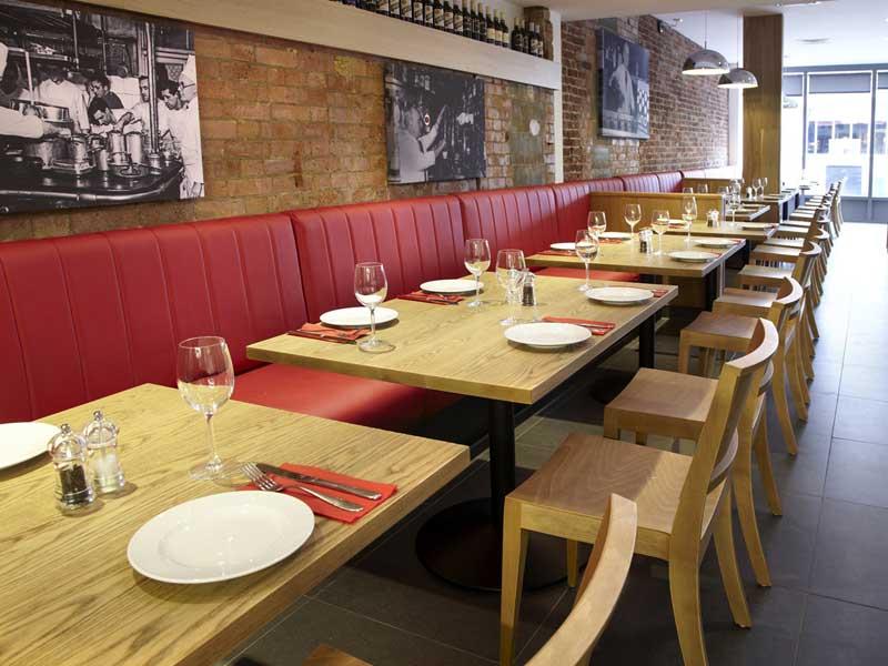wood chairs - restaurant furniture EAAMMEN