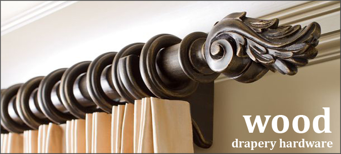 wooden curtain poles wooden drapery hardware and curtain rods LMRTAFS