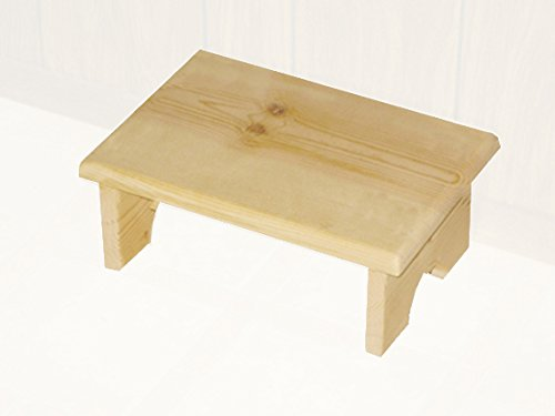 Wooden step stool amazon.com: small wood step stool made in usa: kitchen u0026 dining HAYPBFS