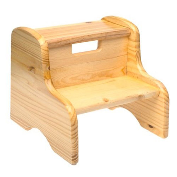 Wooden step stool wood step stool - solid pine RRYYNYN