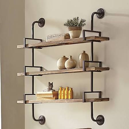 wrought iron wall mounted shelves - google search CTETLBW