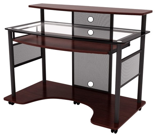 z-line designs cyrus computer desk multi zl2200-01wsu - best buy ZXOISBV