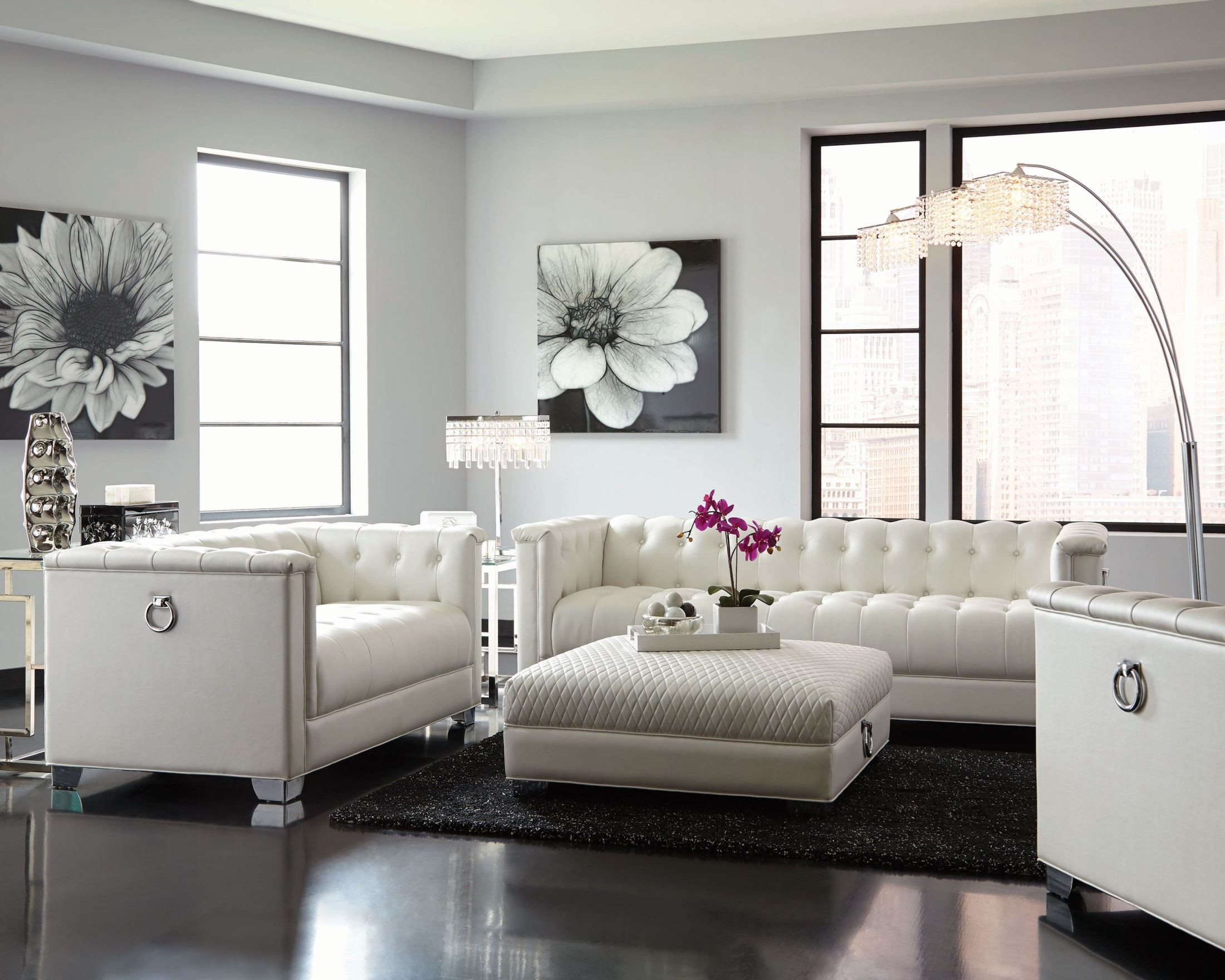 How to select white tufted loveseat furniture