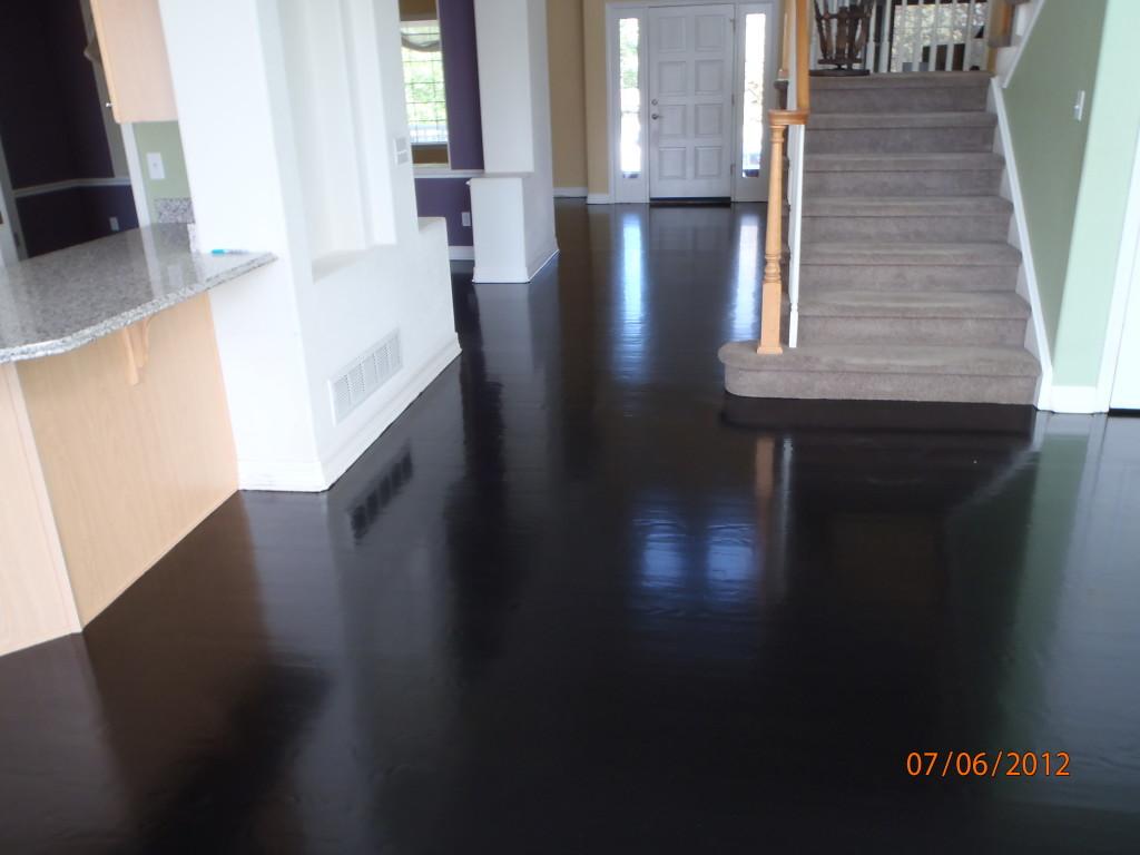 ... gorgeous home interior design with black hardwood flooring : epic  picture CGMPBRU