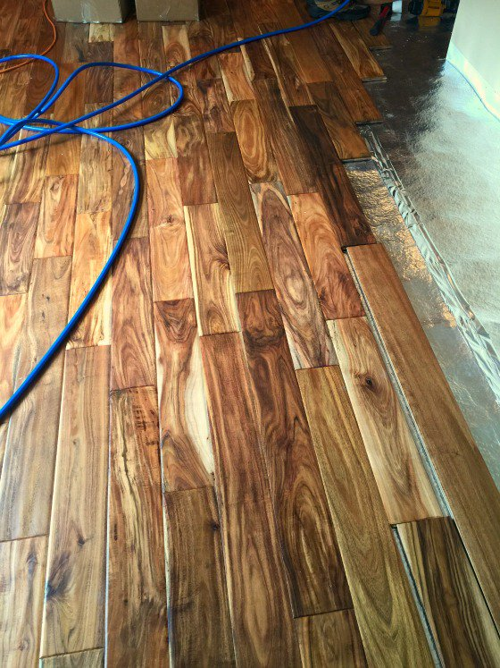 ... our kitchen makeover: new hardwood floors - a family feast YTHDPMY