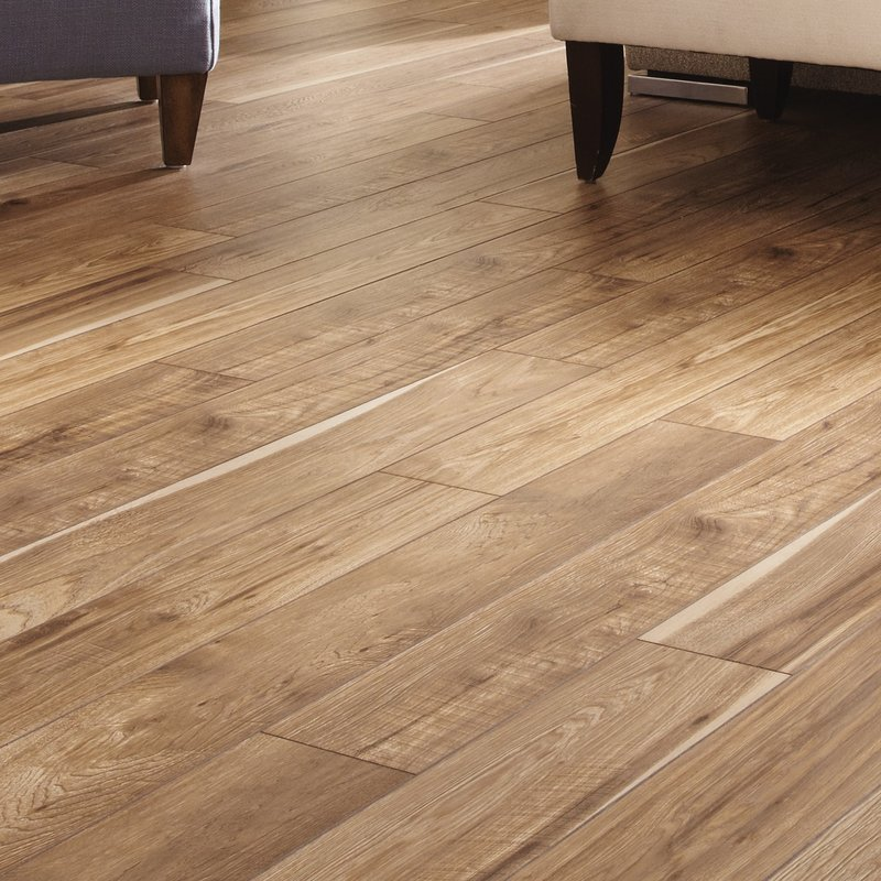 12mm laminate flooring restoration 6u0027u0027 x 51u0027u0027 x 12mm hickory laminate flooring ... PXOUYFI