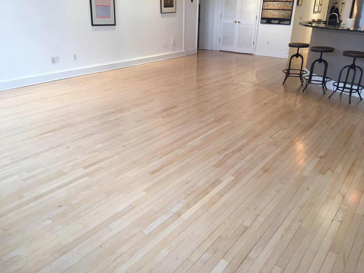 1929 maple floors finished with pro image satin | general finishes design SEFNGIE