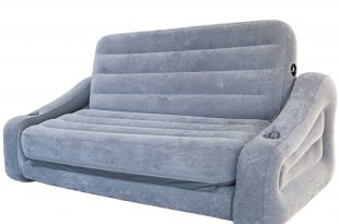 2 in 1 sofa intex inflatable 2-in-1 pull-out sofa and queen air mattress futon JETTOQX