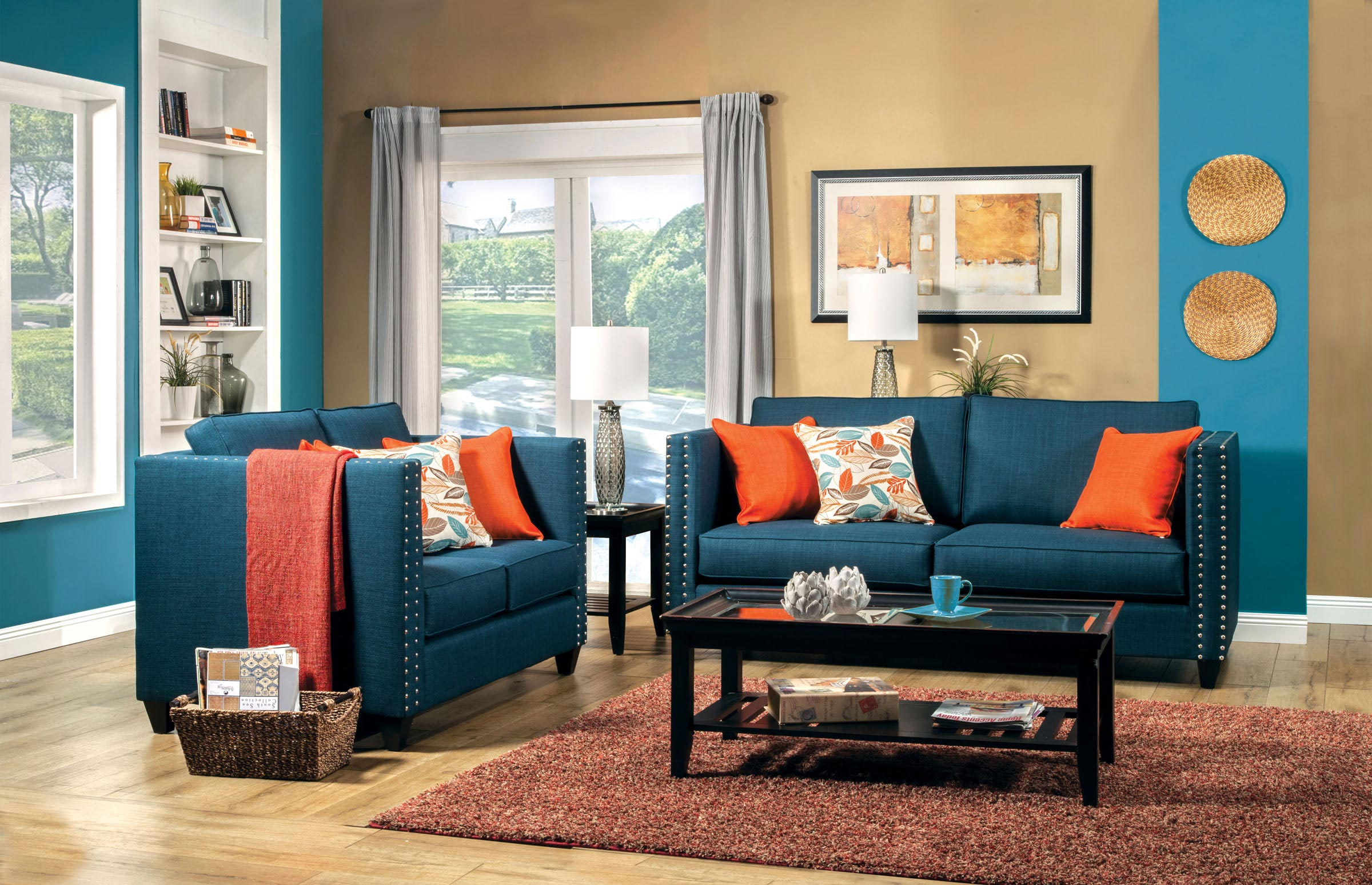 How sofa blue is best among a variety of colors