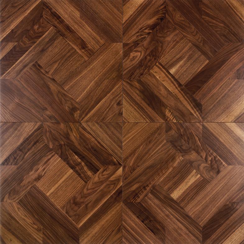 2018 solid wood floor parquet flooring polygon decorative wood floor  burmese teblack CSQPGSJ