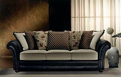 3+2 seater meteora designer leather fabric sofa suite - buy leather sofa GBTKCOQ