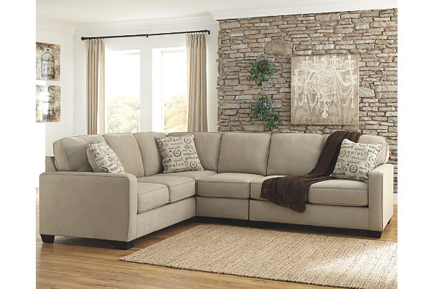 3 piece sectional sofa alenya 3-piece sectional, quartz, large ... AZSSGXE