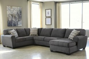3 piece sectional sofa benchcraft sorenton 3-piece sectional with chaise - item number: 2860066+34+ TVYOBPL