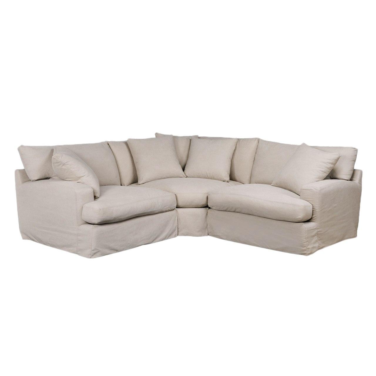 3 piece sectional sofa elisa 3-piece sectional sofa UHFSKHK
