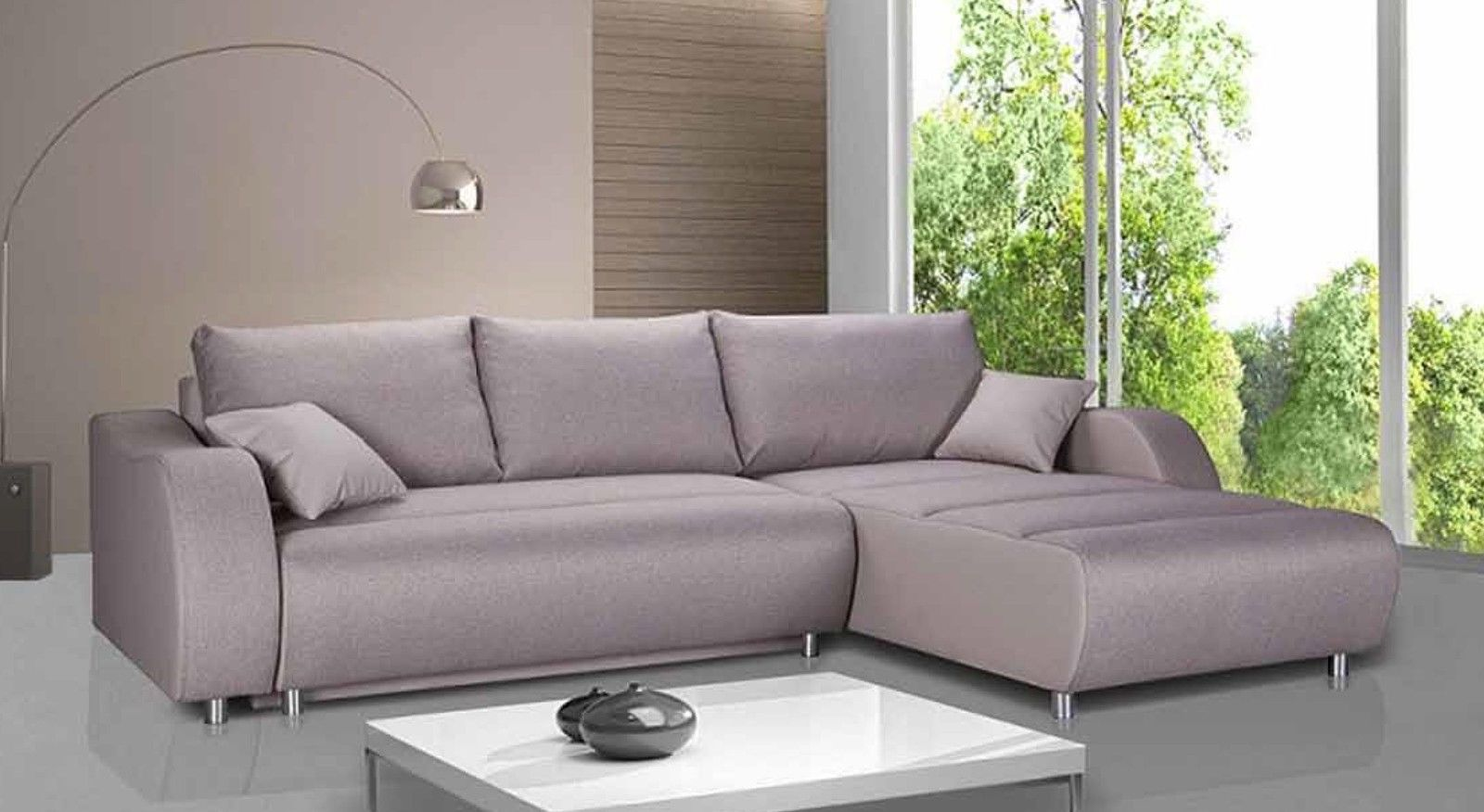 affordable sofas ... corner sofa bed fabric grey surf sofadiscount also corner sectional  couches KENRLEY