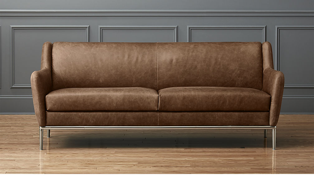 Get leather sofa for comfortable seating