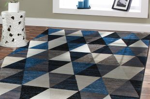 amazon.com: premium large rugs 8x11 modern rugs for brown sofa blue rugs TOMWRDY