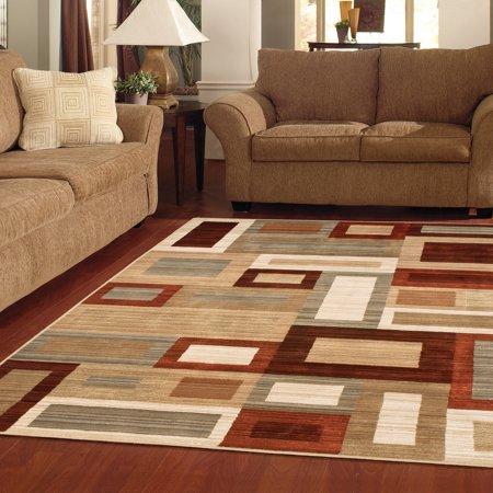 Area carpets better homes and gardens franklin squares area rug or runner - walmart.com ZFKIRNU