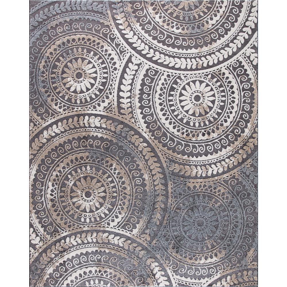 area rug home decorators collection spiral medallion cool gray 8 ft. x 10 ft. tones FTTWZBL
