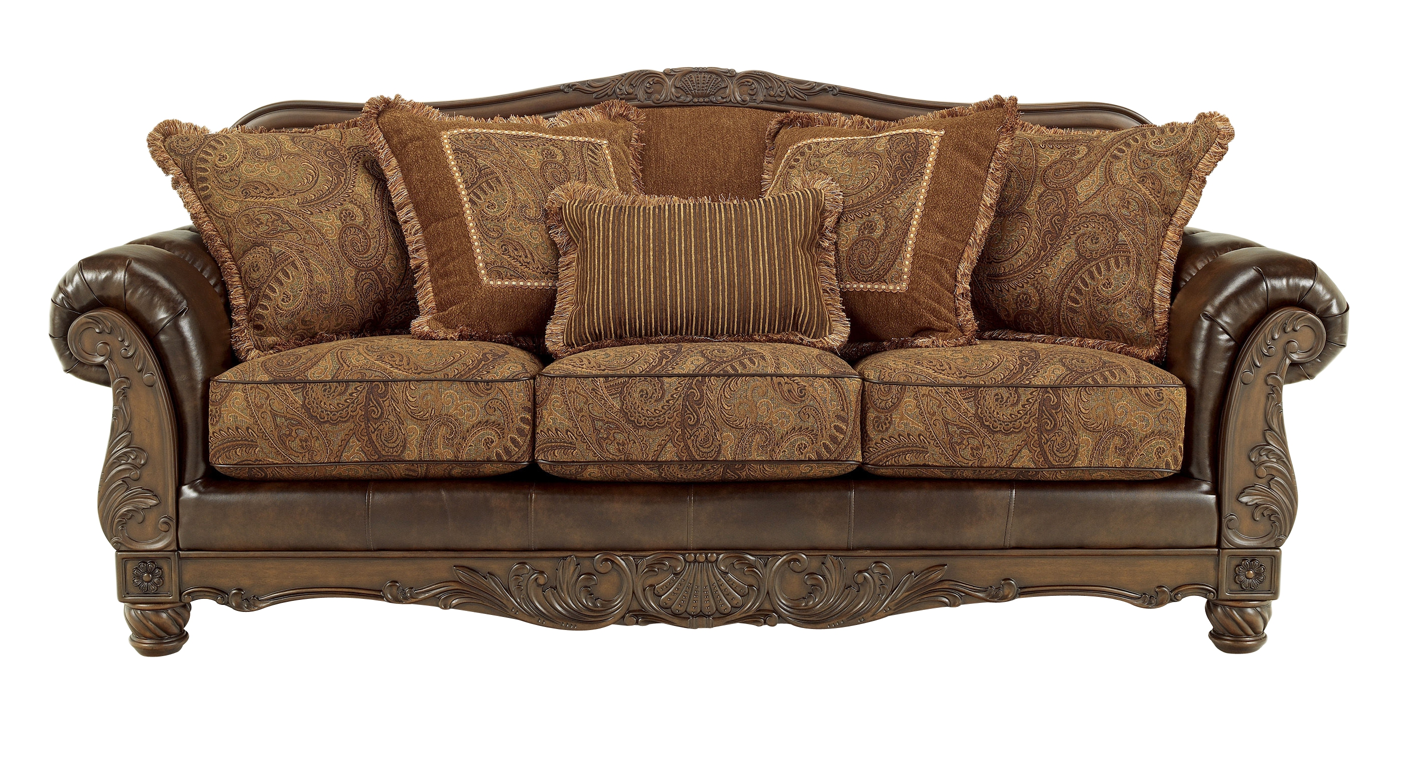 Use antique sofa for your living room and feel more natural