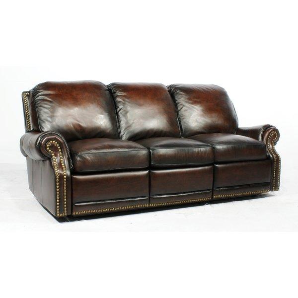 barcalounger premier ll leather reclining sofa u0026 reviews | wayfair TNNRBMM