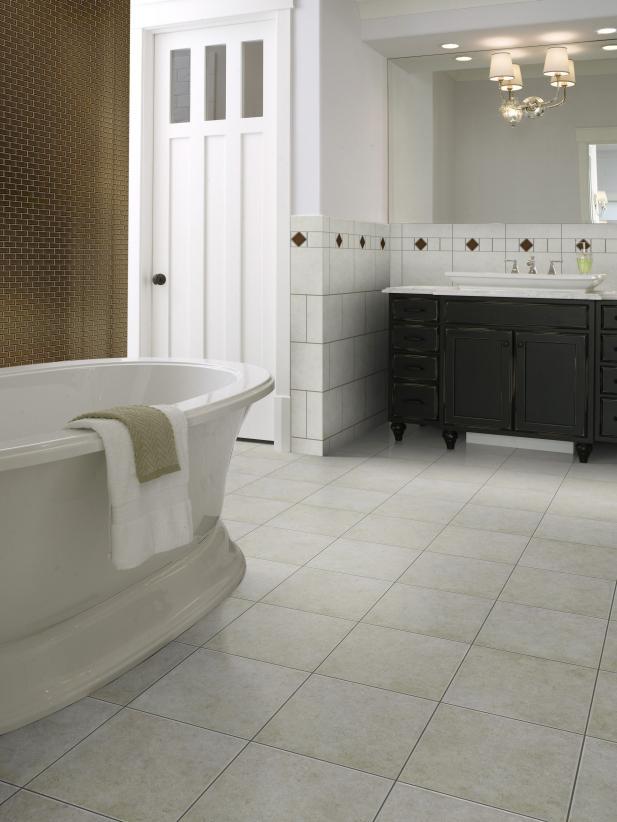 Installing your own bathroom floor tile