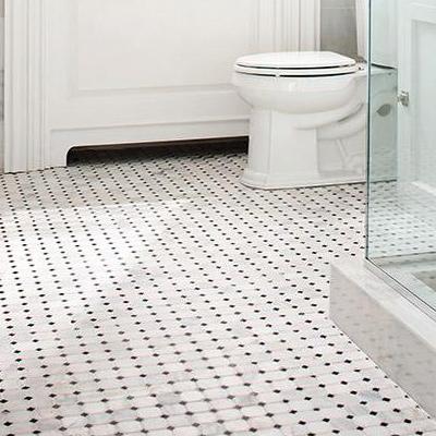bathroom floor tile mosaic ZMXMWOQ