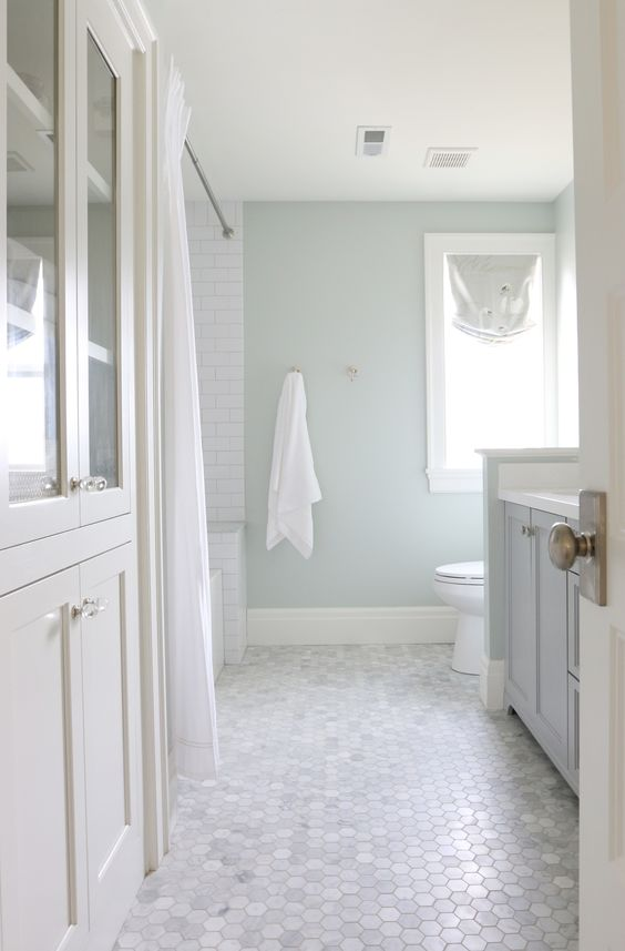 bathroom floor tile octagonal marble ILGPMFS