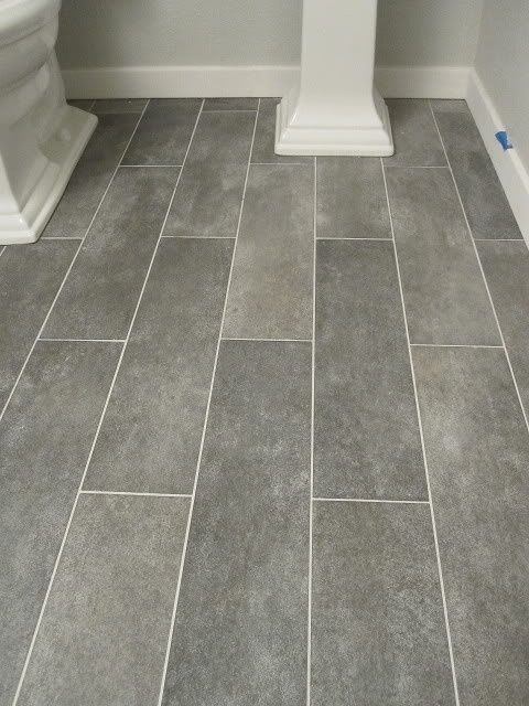 bathroom floor tile wide plank tile for bathroom. great grey color! great option if you canu0027t XGNIXXZ