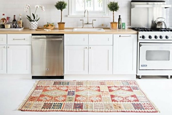 beautiful kitchen rug EMLOAQX