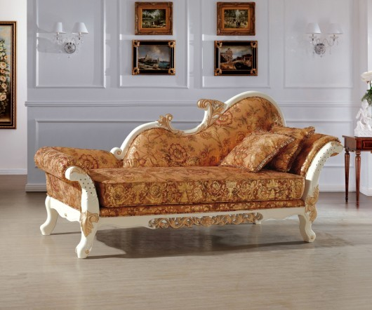 bedroom sofa chair beautiful luxury italian royal style chaise/ lounge chair/recliner sofa  chair living room VCLKFQF