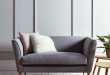 bedroom sofa chair new timsbury cotton weave sofa - grey FLWTQHM