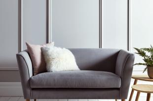 bedroom sofa chair new timsbury cotton weave sofa - grey FLWTQHM