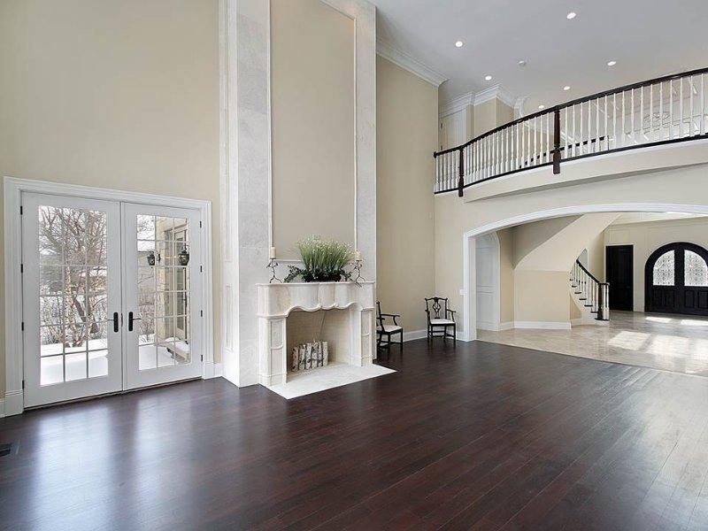 best hardwood flooring options trend of best wall color for dark hardwood floors SMCHHXV