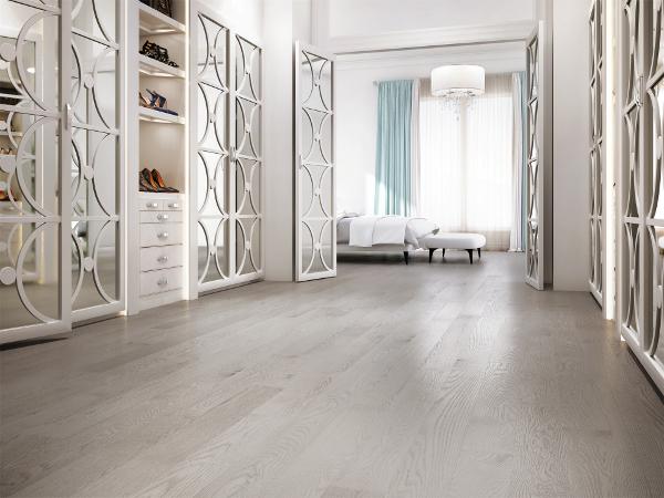 Hardwood floors: class and elegance